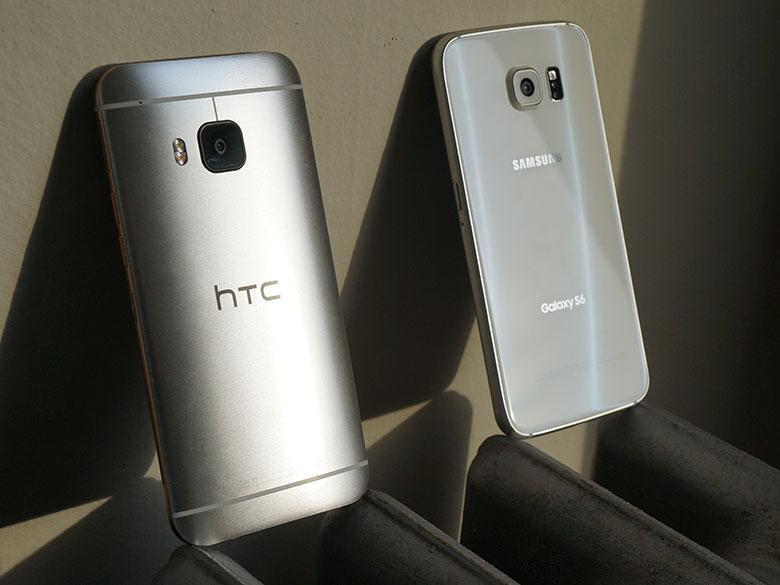 Samsung Galaxy S6 vs HTC One M9 back.jpg