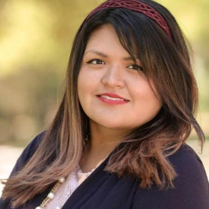 Headshot of woman, Brenda Martinez, M.A.