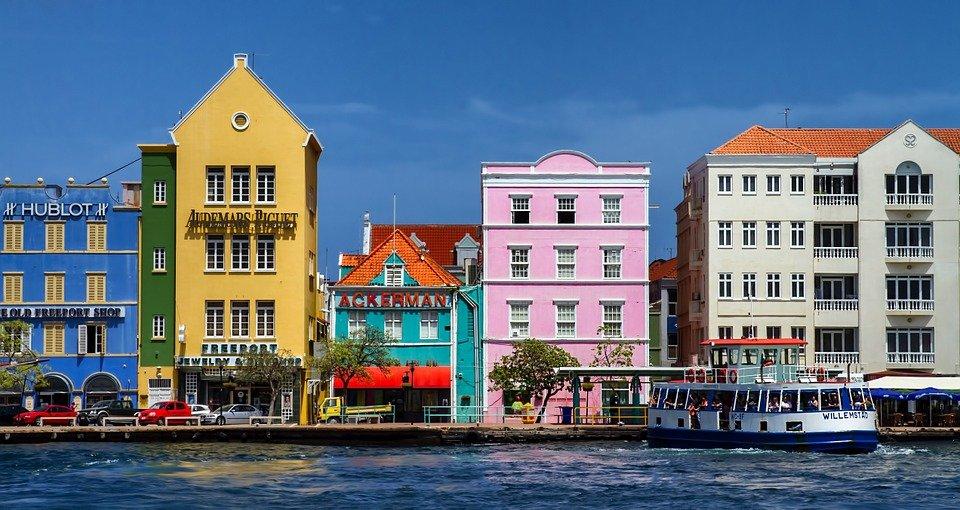 Curacao, Villa, Sur, Isla, West Indies, Ciudad, Casa