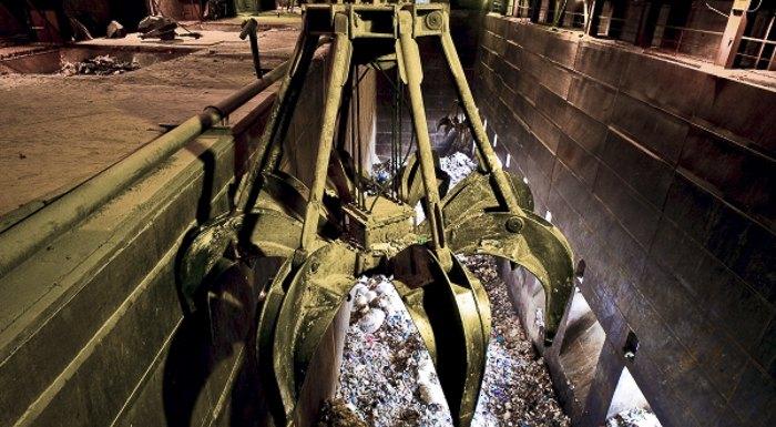 Переробка сміття на київському сміттєспалювальному заводі «Енергія»