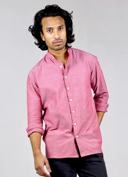 organic cotton chambray shirt gift