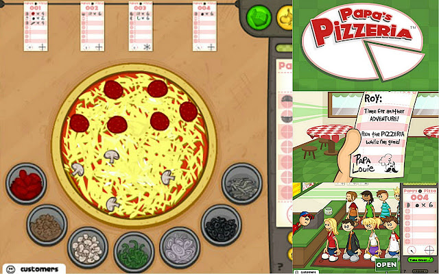 papa pizzeria game online