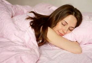 Chăm sóc da bằng cách ngủ đủ giấc