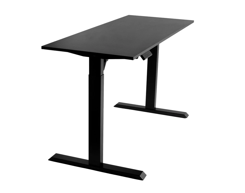 TechOrbits Electric Standing Desk is larger, sturdier, and well-built standing desk that can hold almost everything you need for work with water-resistant and scratch-resistant surface that's easier to clean and maintain