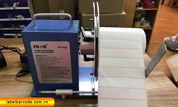 ưu điểm của máy cuộn tem nhãn