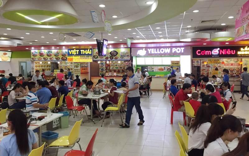 Thế giới ẩm thực quốc tế tại TTTM 81 tang