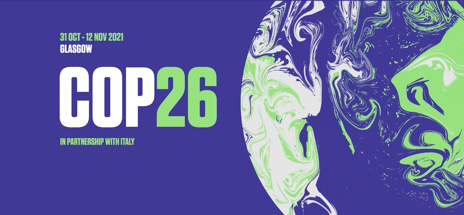 La COP26 se tiendra à Glasgow en novembre