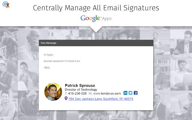 how to create google signature