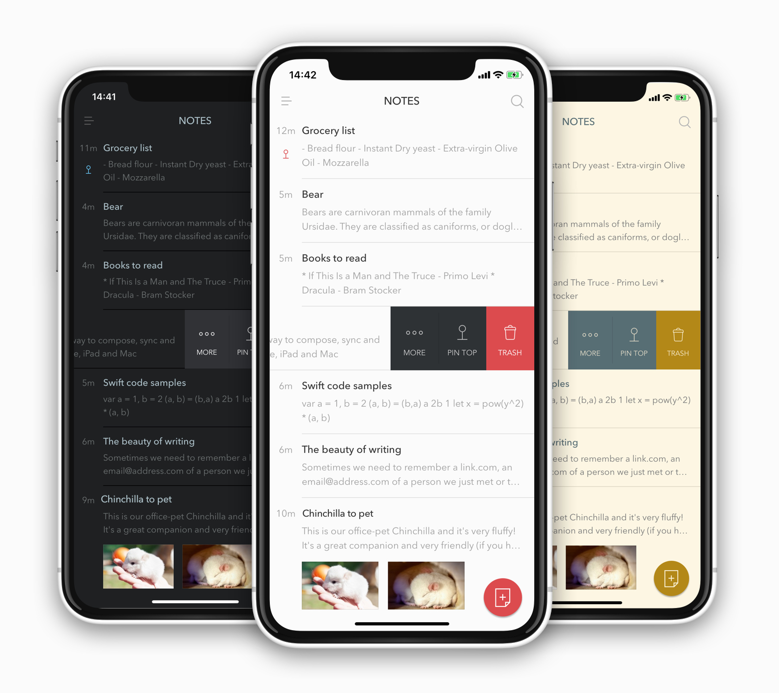 Bear app screenshots note taking apps for mac