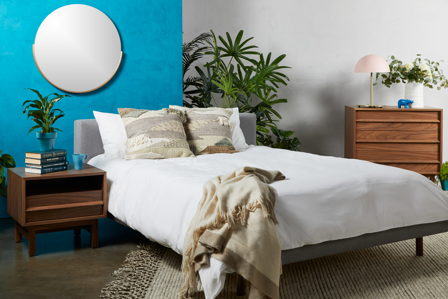 One of the bedroom styles to pick from at Fernish