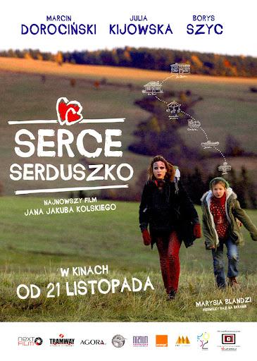 Przód ulotki filmu 'Serce, Serduszko'