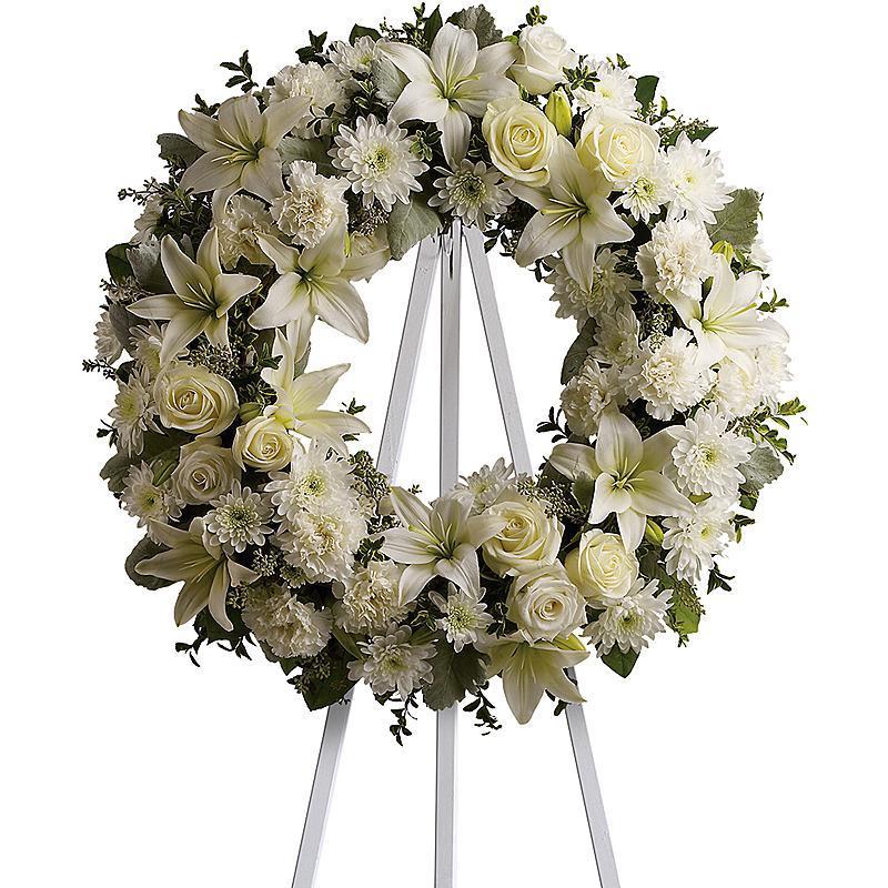 Kết quả hình ảnh cho Điện hoa chia buồn đám tang