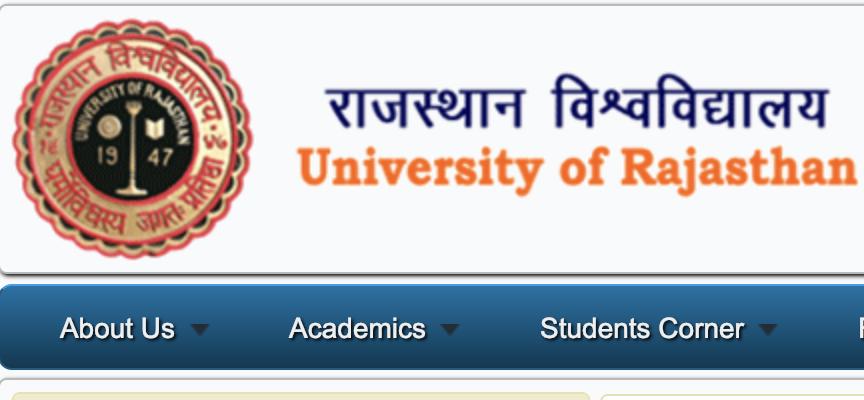 Rajasthan University Jaipur