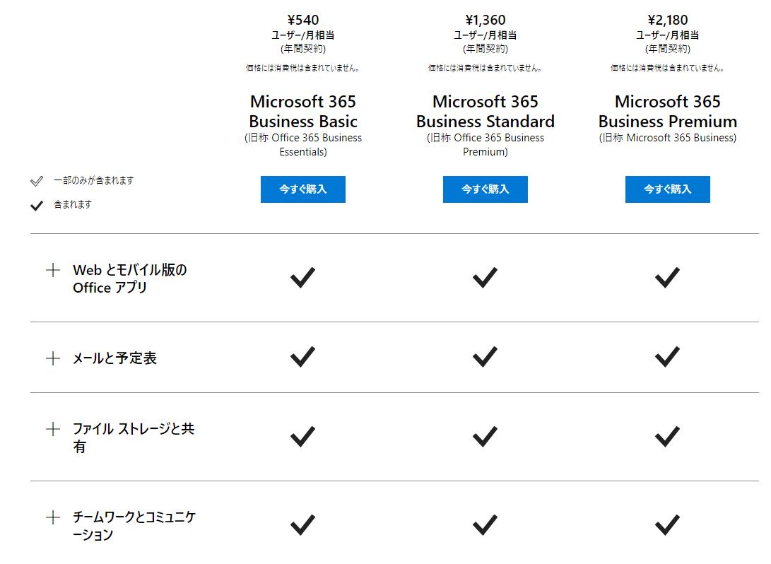 Microsoft 365 法人価格