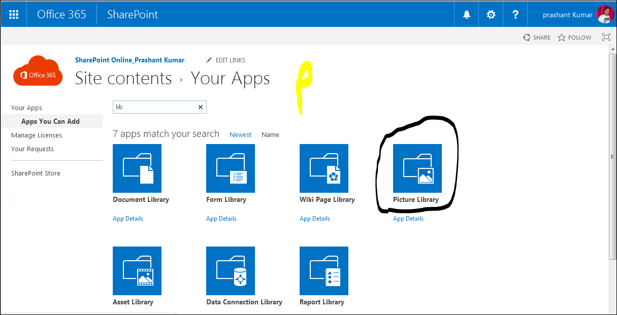 working with images in sharepoint online