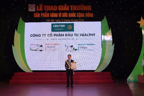 """Giải thưởng """"Sản phẩm vàng vì sức khỏe cộng đồng"""" năm 2019"""