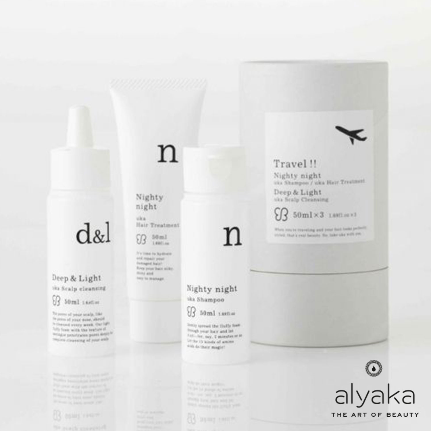 Uka Travel Nighty Night Haircare Set