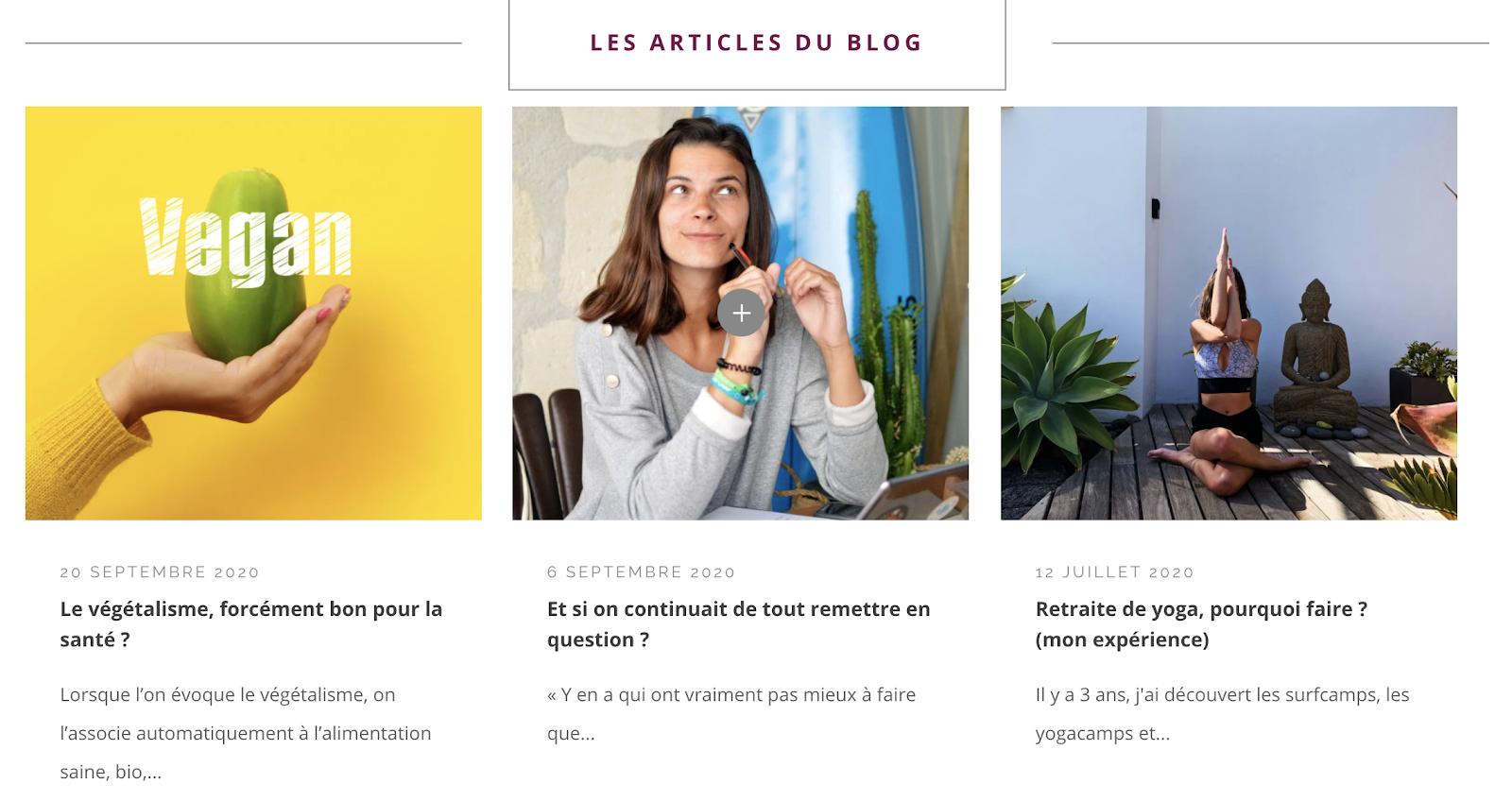 10 blogs bien-être, santé et bonheur: Ma sélection [2021] 8