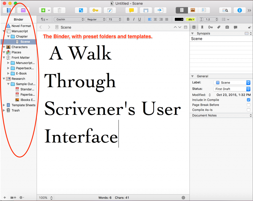 A-Walk-Through-Scriveners-User-Interface