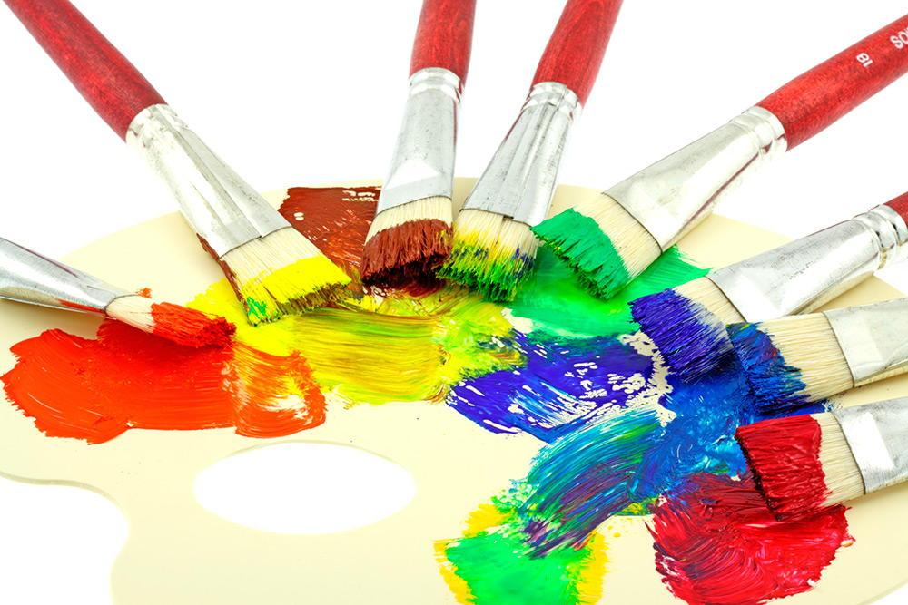 Как смешивать цвета красок