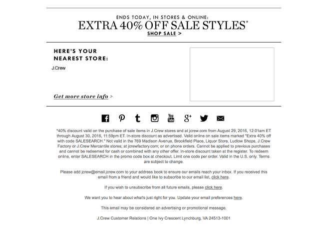 Offer Deals & Discounts in Exchange of Visitor's Email Address