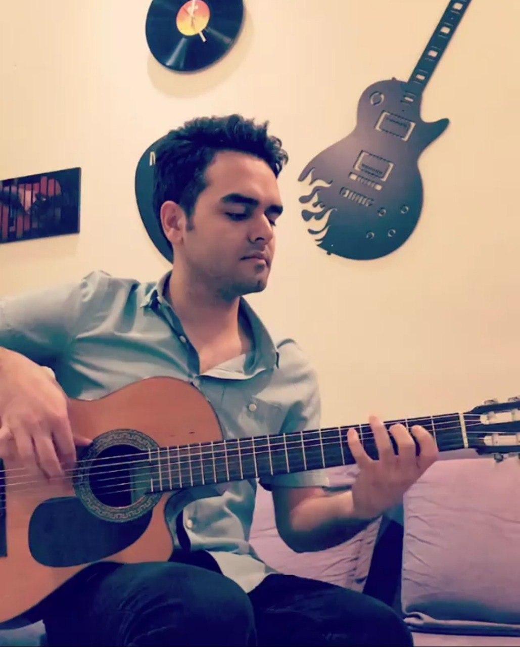 تکنوازی فلامنکو فرزین نیازخانی مدرس گیتار