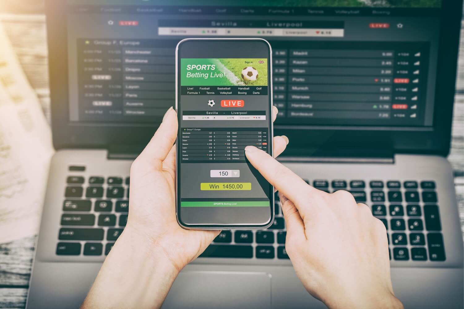 Learn about Live betting
