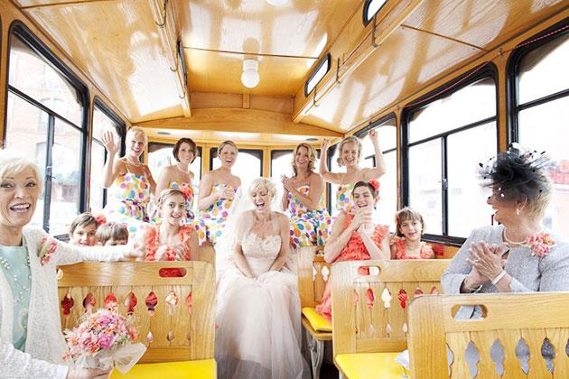 mage result for rent a bus for wedding