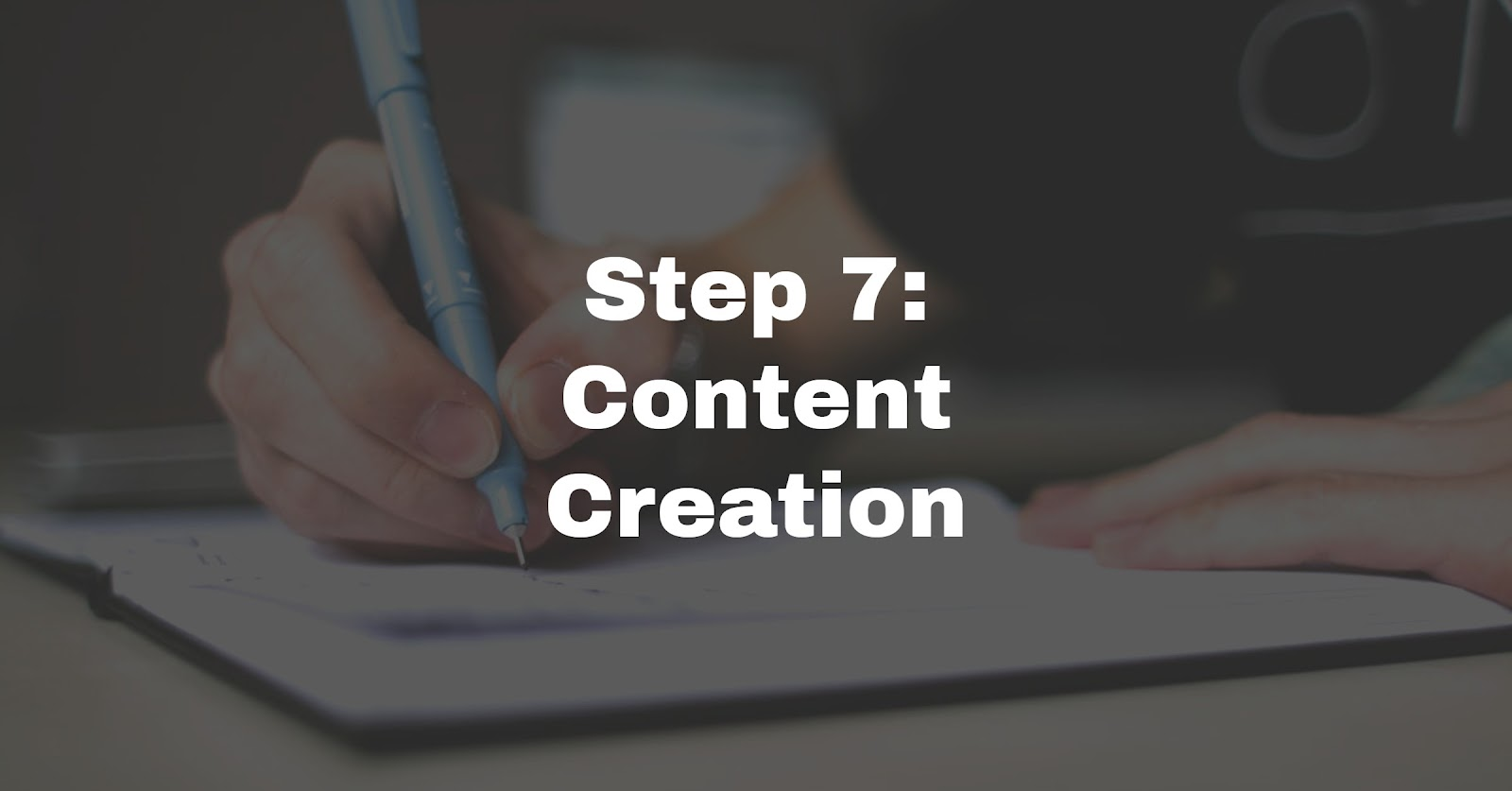 planning content for website