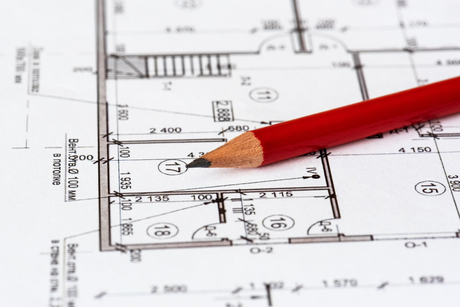 structural detailing on plans