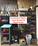 storage closet repair area