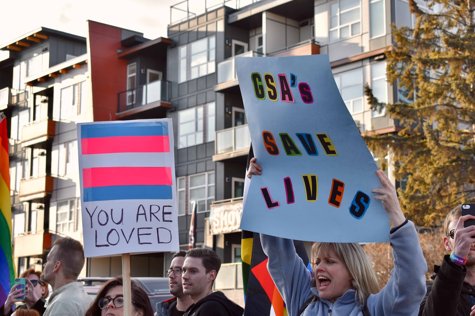LGBTQ community supporting  International Transgender Day of Remembrance