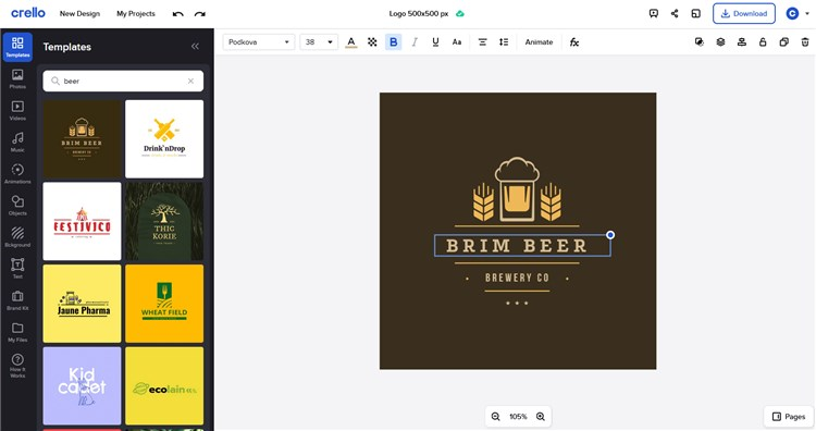 Crello Best Logo Makers for Small Businesses