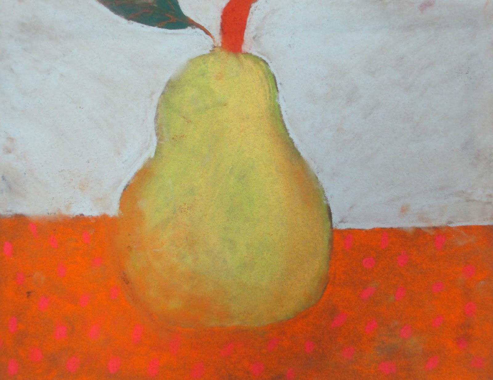 Pear on Polkadots.jpg