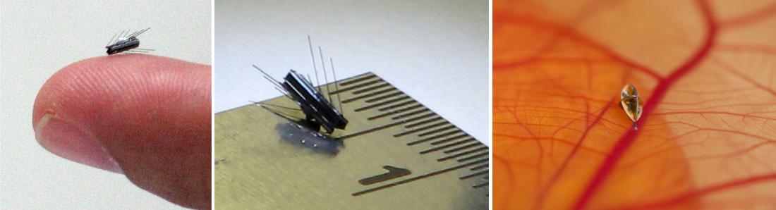 Nanorobots et mircrobots Virob à usage médical. Prochain outil indispensable de la médecine.