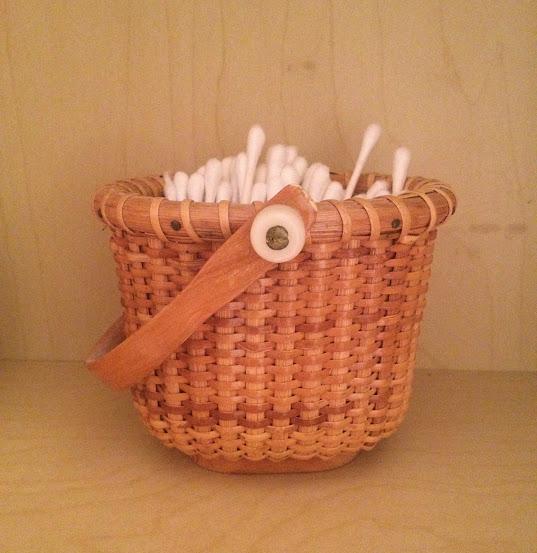 Basket of Q-tips