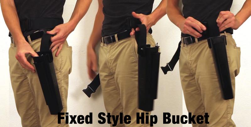 Fixed Style Hip Bucket