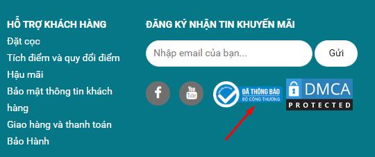 Rất nhiều Website đã sử dụng dịch vụ đăng ký logo Xanh, logo Đỏ của VNBrand.net