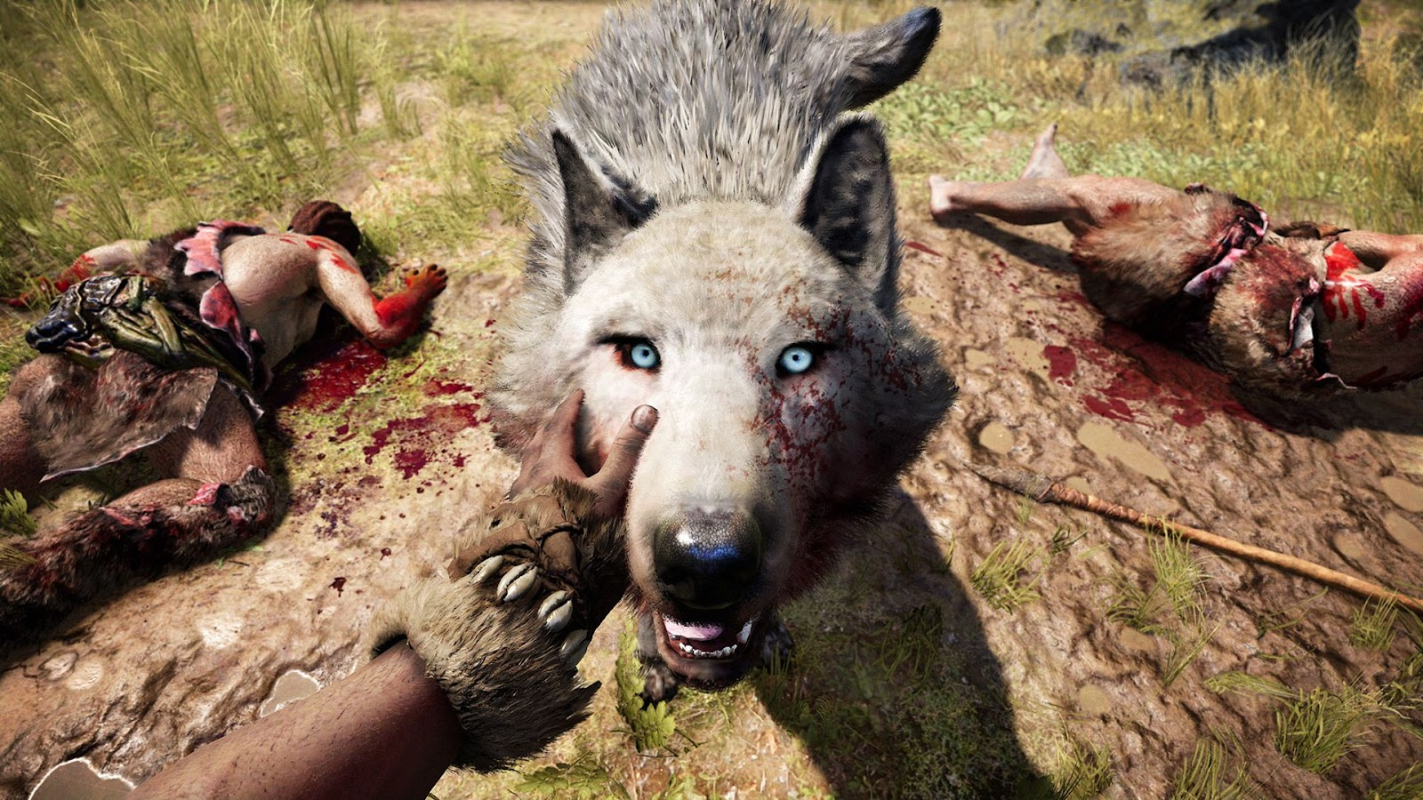 Image result for petting a dog far cry primal