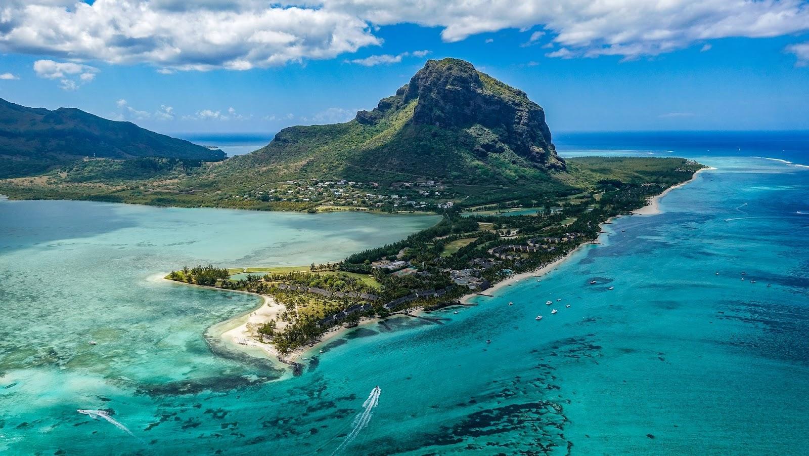 Путешествие на яхте в Республике Маврикий