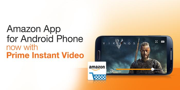 Watch Amazon Prime on Android