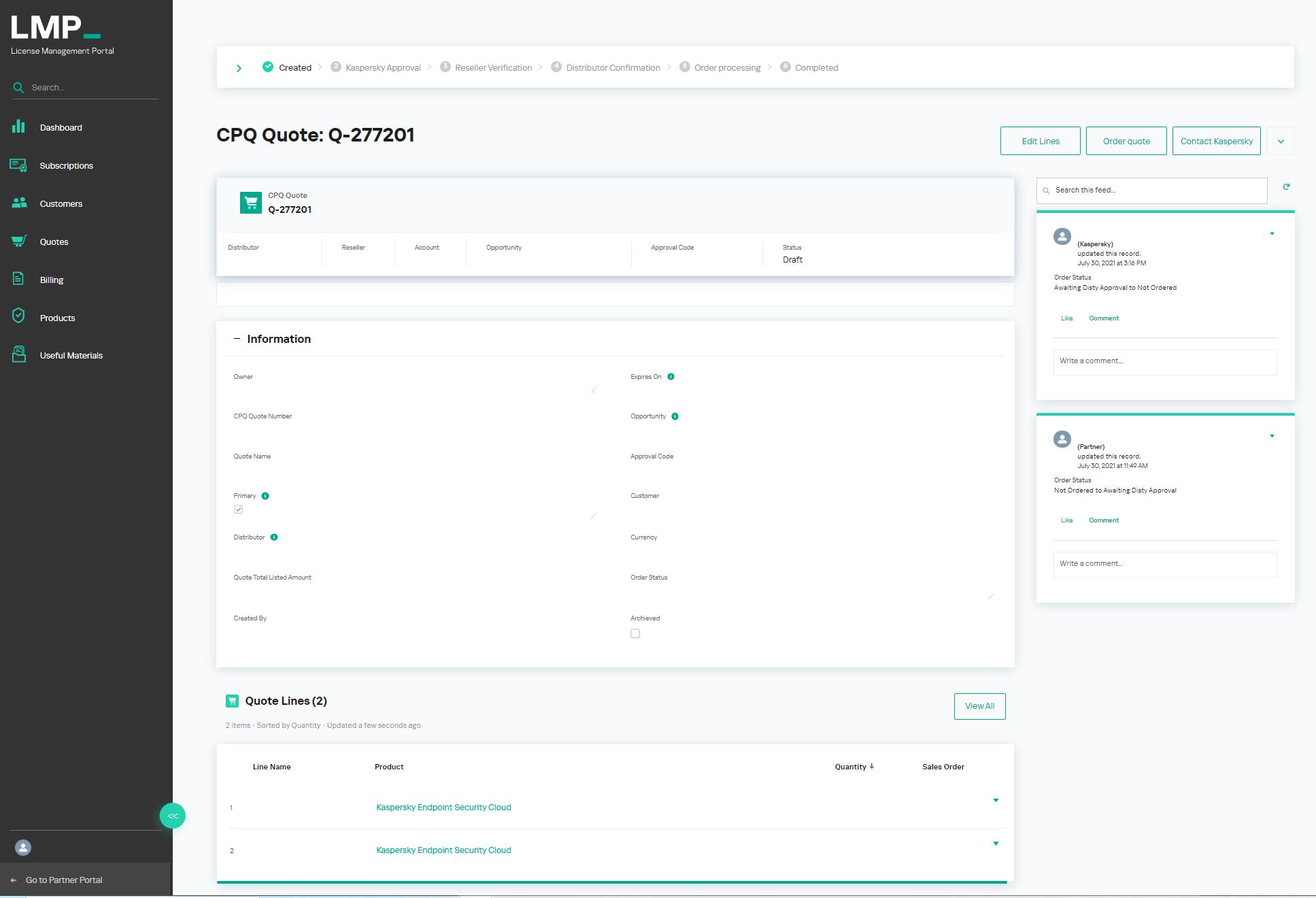 Kaspersky License Management Portal 2.0 speeds up regular license ordering for partners and distributors 1