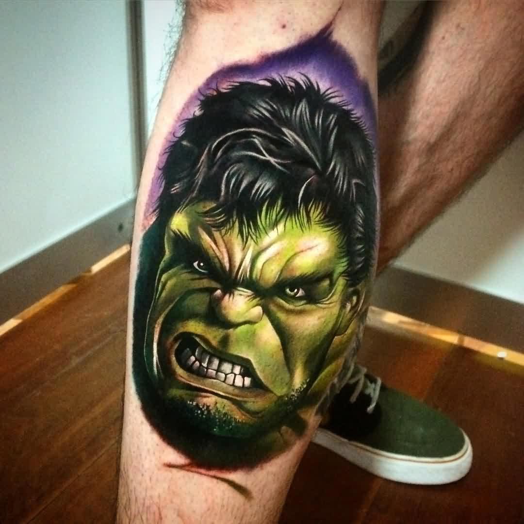50 ลายสัก Hulk ใครเป็นแฟนหนังต้องดู