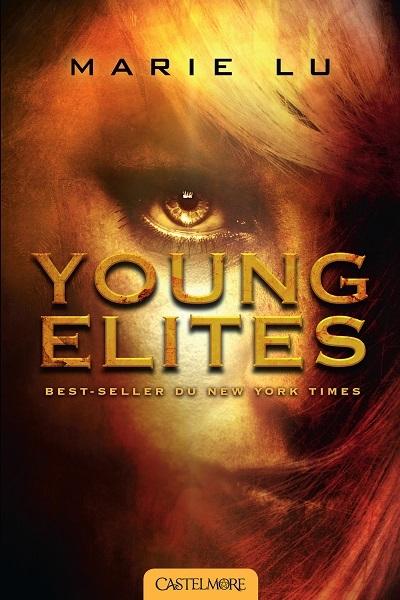 Première de couverture du roman young elites