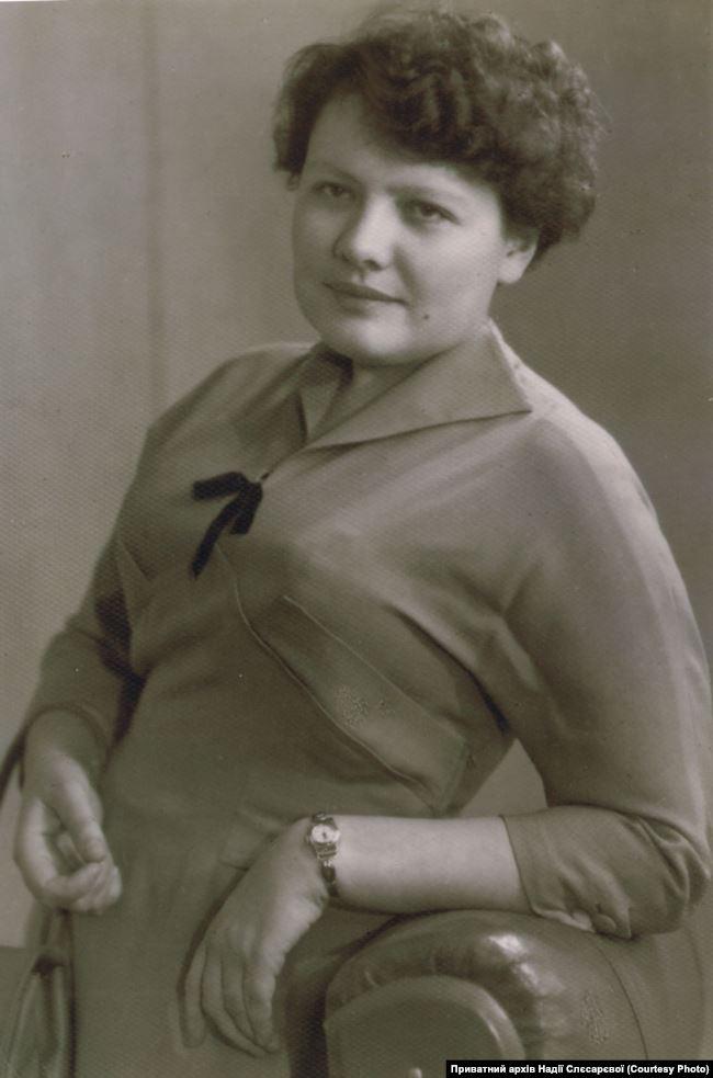 Олена Рейнгард, тітка і прийомна матір. Джерело: Приватний архів Надії Слєсарєвої