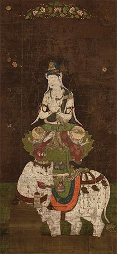 国宝 普賢菩薩像 平安時代・12世紀 東京国立博物館蔵