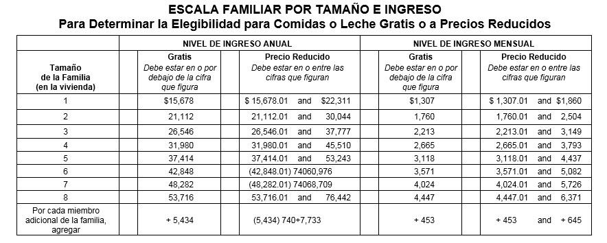 Annual Income - Spanish
