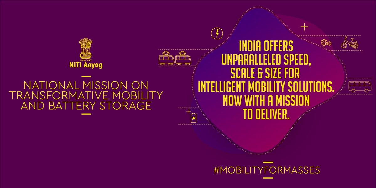Image result for 4. National Mission on Transformative Mobility and Battery Storage