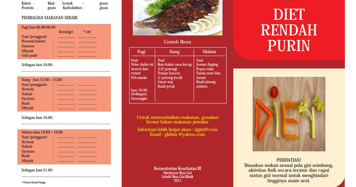 30 Makanan Rendah Purin untuk Penderita Asam Urat