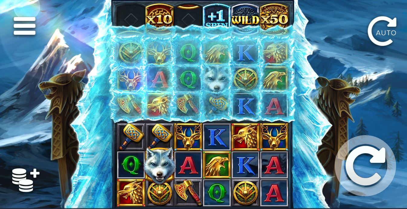 Play Ice Wolf Online Slot for Real Money at Scatters Casino